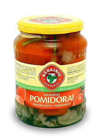 0,72l Canned whole tomatoes KĖDAINIŲ KONSERVAI