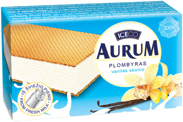 Aurum between wafers
