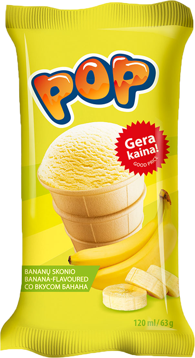 Pop waffle cup
