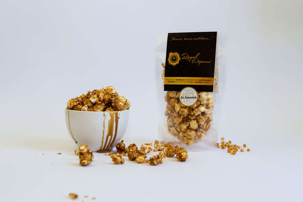 Royal Popcorn with Caramel