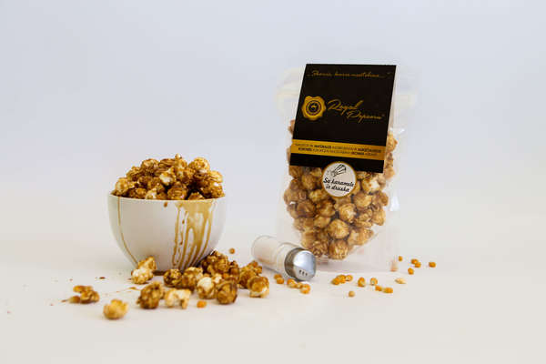 Royal Popcorn with Salted Caramel