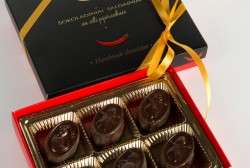CHOCOLATES WITH CHILI PEPPERS