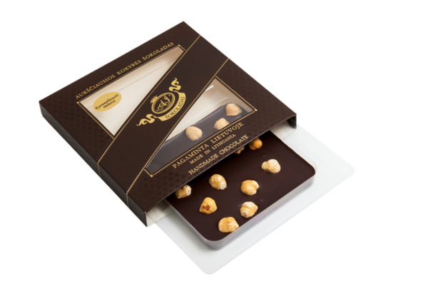 HIGHEST QUALITY PLAIN CHOCOLATE (with nuts)