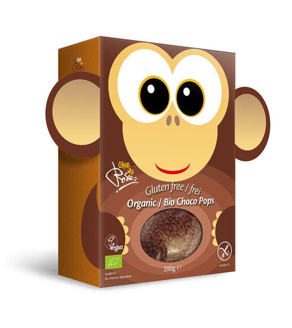 Gluten Free Monkey chocopops Organic