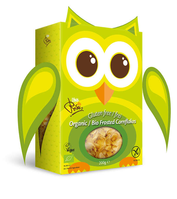 Gluten Free Owl Frosted Cornflakes Organic