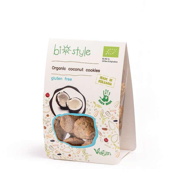 Organic coconut cookies - gluten free