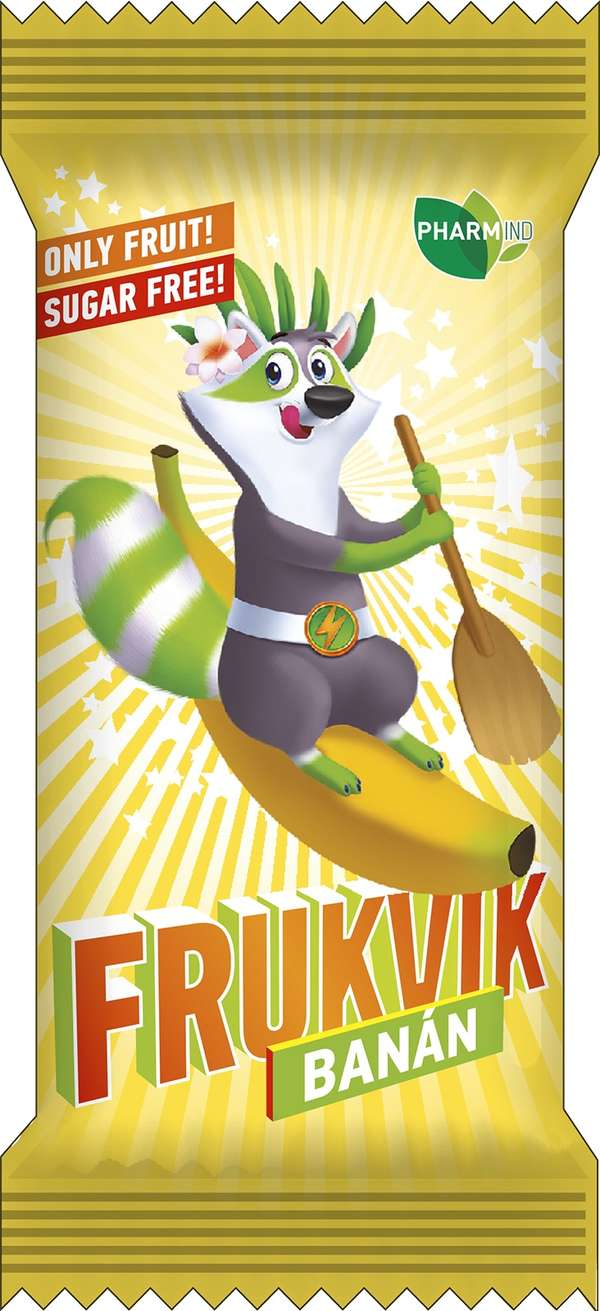 The Kids Fruit Bar Frukvik Banana