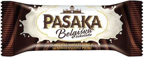 """Curd cheese """"PASAKA"""" with condensed milk, 23% fat."""