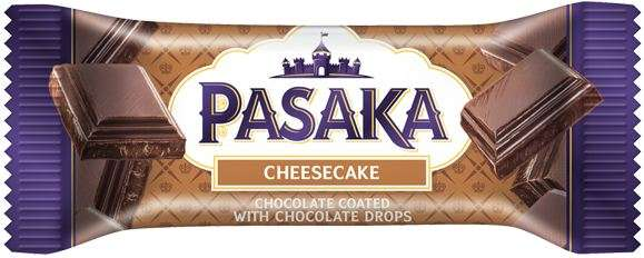 """Curd cheese """"PASAKA"""" with cocoa and chocolate chips"""