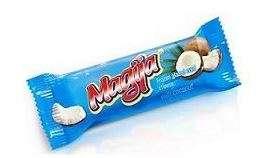 """Frozen glazed curd cheese """"Magija"""" with coconut 24% fat. 45g"""