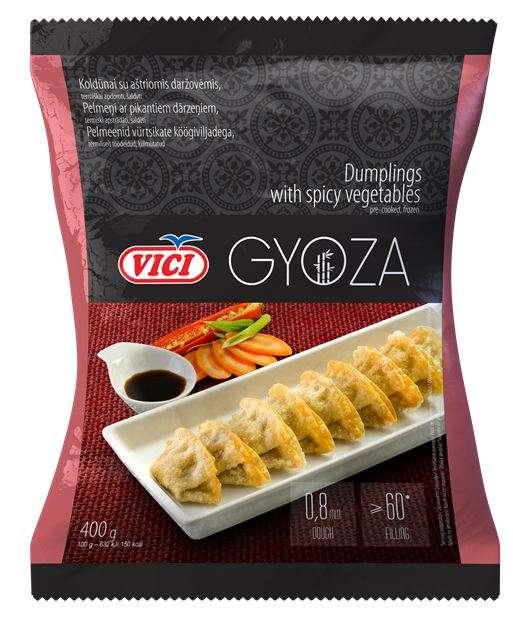 Dumplings with sharp vegetables Gyoza, 12x400g