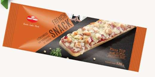 French Snack appetizer with chicken and cheese 120g