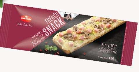 French Snack appetizer with ham and mushrooms 120g