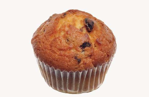 Muffins with raisins 70g
