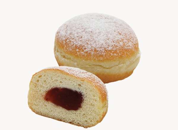 Donut with jam (assorted) 60g