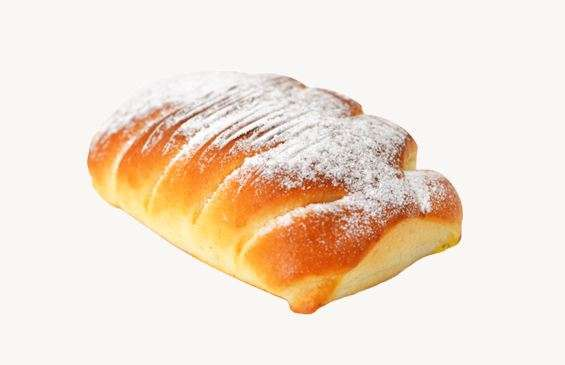 "Sweet bun""Eglutė"" with cottage cheese filling 70g"