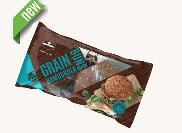 Grain buns for hamburgers (2 pcs.) 164g