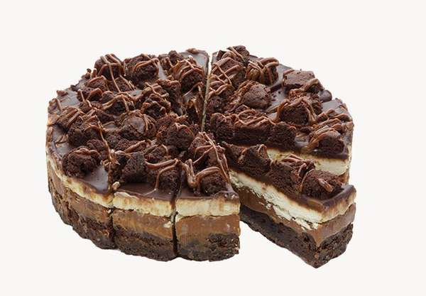 "5-layer cake ""Deluxe"" (sliced) 2,2kg ,. 16 piece"