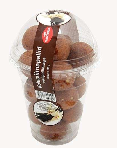 Mini Curd Berliner Balls with Vanilla Flavoured Filling 130g