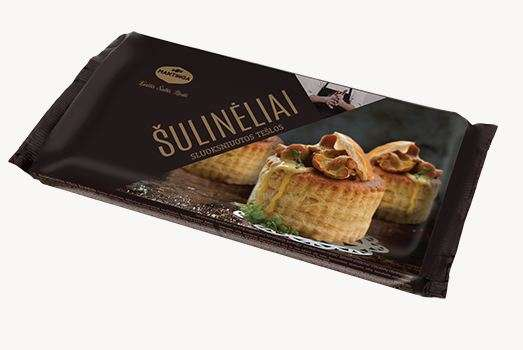 Puff Pastry Shells 240g