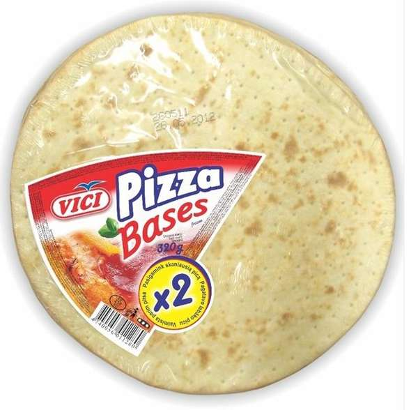 Wheat tortillas for pizza, 320 g