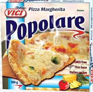 Pizza Margarita, Popolare, 7x300g