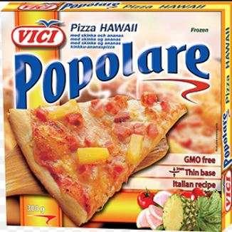Pizza Hawaii, Popolare, 7x300 г