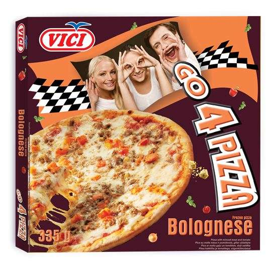 Pizza Bolognese, Go 4 Pizza, 335g