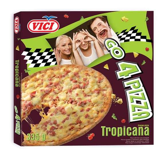 Tropicana Pizza, Go 4 Pizza, 335g