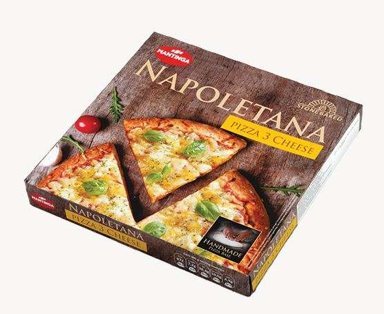 Pizza Napoletana THREE CHEESE 305g