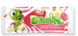DRAAKON Raspberry sorbet 100ml/90g