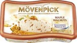 Ice cream Maple Walnuts, Moevenpick Nestle, 6x900ml