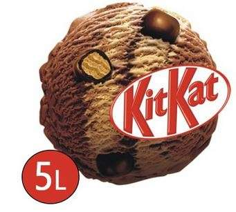 Ice cream Kit Kat Nestle, 5L