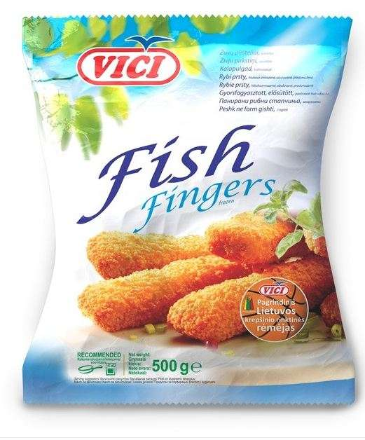 Fish fingers ''VICI'', 500 g