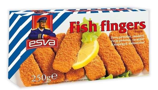 Fish fingers ''ESVA'', 250 g
