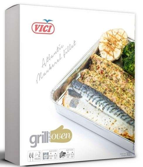 "Mackerel fillets with the skin, ""GRILL"" 6x300g"
