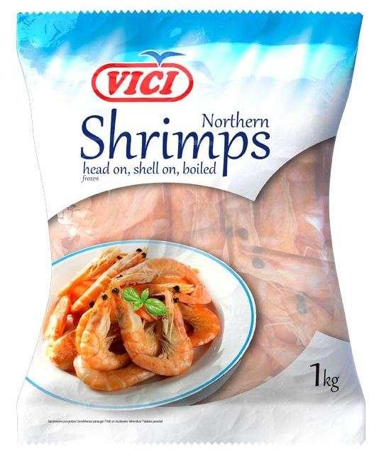 Frozen northern shrimp (90/120), 1/0,7kg