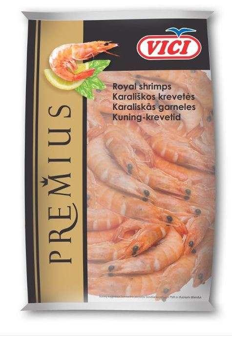 Frozen shrimp (50/70), 400g