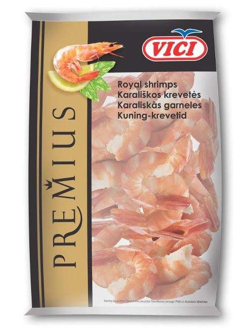 Frozen shrimp (31/40), 300 g