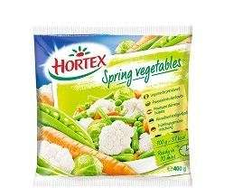 "Mixtures of vegetables ""Spring"" Hortex "", 400g"
