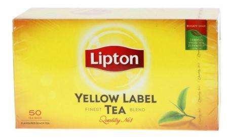 "LIPTON black tea ""Yellow Label"" *50"
