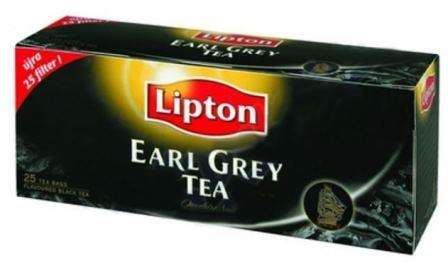 LIPTON black tea EARL GREY *25