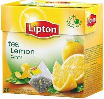 LIPTON black tea lemon flavor * 20