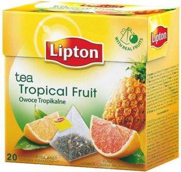 LIPTON black tea with tropical fruit flavor *20