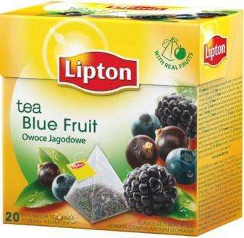 LIPTON black tea with blue berry flavor *20