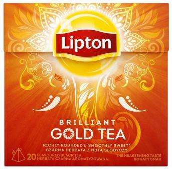 LIPTON black tea GOLD *20