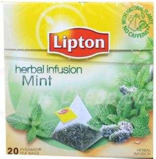 LIPTON Peppermint tea *20