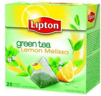 LIPTON green tea with lemon and melissa *20