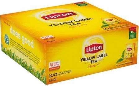 "LIPTON black tea ""Yellow Label (thermal)"" *100 (horeca)"
