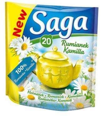 SAGA chamomile tea *20